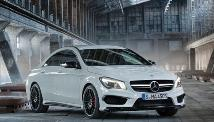 Mercedes Benz CLA Roadshow - International